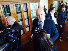 Il Presidente di Confartigianato Ferrer Vannetti presenta alla stampa il ruolo dell'Associazione all'interno della Manifestazione