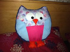 Snuggly owl pattern
