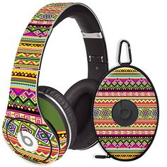 Happy Bright Tribal #Skin  for the #Beats #Studio #Headphones & Case by #Skinzy.com