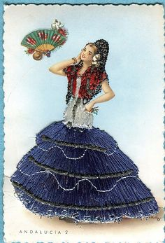from Andalucia, vintage Spanish postcard   eBay