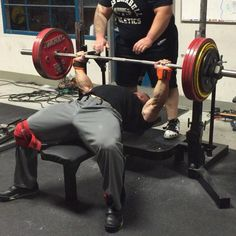 Dan Green Powerlifting Barbell Bench Campaign Weight Lifting Weightlifting