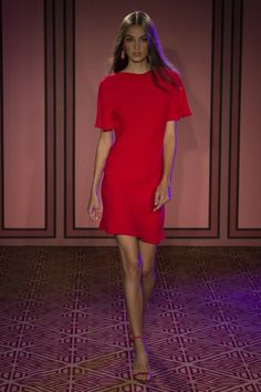 See the entire Spring 2018 collection from Brandon Maxwell.