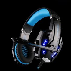 EACH 3.5mm Game Gaming Headphone Headset Earphone Headband with Microphone LED Light for Laptop Tablet Mobile Phone computer  #out #PC #Controllers #Attackontitan #lol #Collectibles #jackets #PS2 #Xboxone #Cosplay