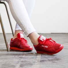 Reebok Women's Princess Spirit Trainer in Mono Red (083246 - £49.99) #Footasylum