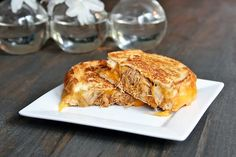 Сэндвичи-гриль с сыром и мясом