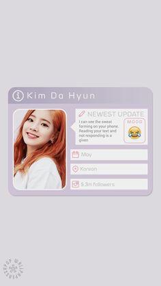 Dahyun - Twice Wallpapers Kpop, Cute Wallpapers, Biodata Twice, Melanie Martinez, Twice Lyrics, K Pop, Kpop Tumblr, Twice Members Profile, Warner Music