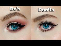 eye makeup for hooded eyes ~ eye makeup & eye makeup tutorial & eye makeup art & eye makeup for brown eyes & eye makeup steps & eye makeup for blue eyes & eye makeup tutorial for beginners & eye makeup for hooded eyes & Eye Makeup Eye Makeup Steps, Eye Makeup Art, Blue Eye Makeup, Skin Makeup, Makeup Tips, Makeup Ideas, Eyeliner Makeup, Makeup Designs, Makeup Tutorials