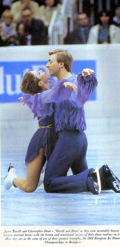 Torvill & Dean.I love watching these two. Please check out my website Thanks.  www.photopix.co.nz