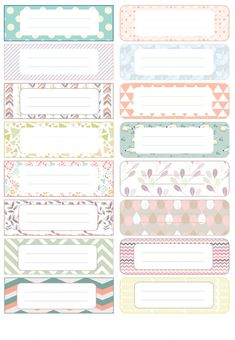 Timestamps DIY night light DIY colorful garland Cool epoxy resin projects Creative and easy crafts Plastic straw reusing ------. Printable Labels, Printable Stickers, Printable Planner, Planner Stickers, Notebook Labels, Etiquette Vintage, School Labels, Name Stickers, Note Paper