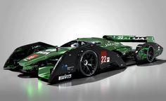 2020 Jaguar XJR-19 LMP1 concept race car is Mark Hostler's independent design project as a design proposal for a Le mans race car