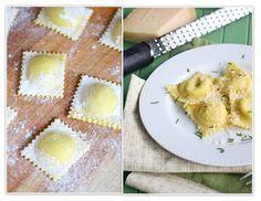 Homemade Ravioli--this site has tons of homemade Italian recipes and tutorials // The Italian Dish