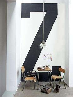 Stencil per la tua casa - Stencil lettera Z Stencil for your home - Stencil letter Z