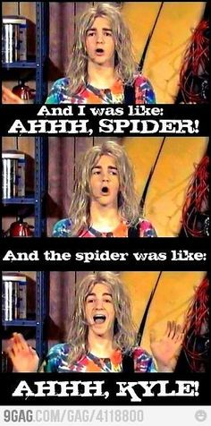 Totally Kyle from the Amanda Show...memories