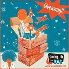 Sew Can Do: Groovy Lab In A Box Kid's STEM set giveaway.  Ends 9/8/14.  Open to US & Canada. #groovylabinabox #STEM #homeschooling