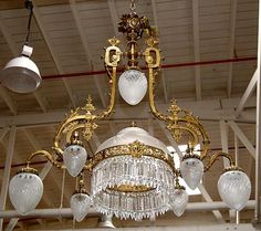 110 best victorian crystal chandelier images on pinterest antique victorian chandeliers beautiful american victorian chandelier with crystal prisms for sale aloadofball Images