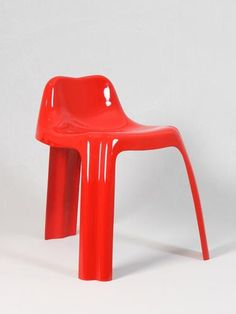 Patrick Ginger, Fiberglass 'Ginger' Chair for Paulus, 1971.