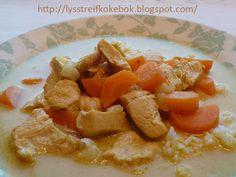 Lysstreif: Min lille kokebok: Karrisuppe med kyllingfilet