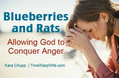Blueberries and Rats (Allowing God to Conquer Anger) - Time-Warp Wife | Time-Warp Wife