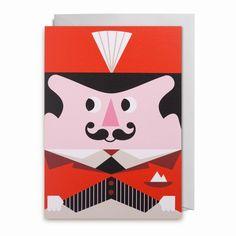 Greeting #card #circus by #Ingela P #Arrhenius from www.kidsdinge.com  https://www.facebook.com/pages/kidsdingecom-Origineel-speelgoed-hebbedingen-voor-hippe-kids/160122710686387?sk=wall