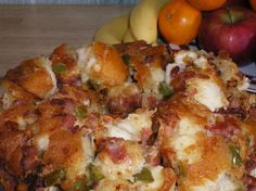 Pull Apart Bacon Bread