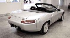 Porsche 928 convertible concept