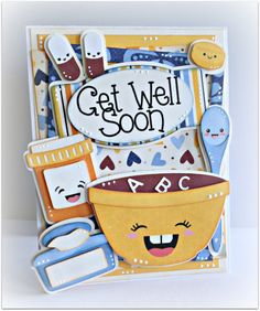 Pretty Paper, Pretty Ribbons: Get Well Soon card