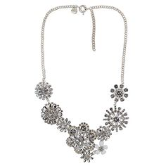 Jane Stone Fashion Silver Tone White Crystal Flower Necklace Flawless Shiny Trendy Jewelry For Wedding(Fn0712-Silver) Jane Stone http://www.amazon.com/dp/B00OGVOOHE/ref=cm_sw_r_pi_dp_52WKwb1HQN67K