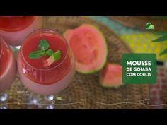 Mousse de goiaba com coulis :: Sabores da Semana - YouTube