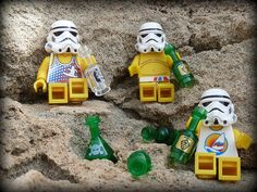 Stormtroopers In Ibiza (On The Rocks !) by MinifigNick