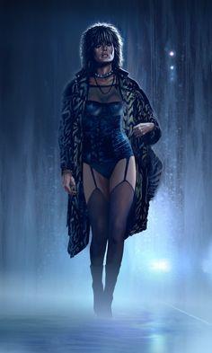 Pris alone - Blade Runner by ~Harnois75 on deviantART