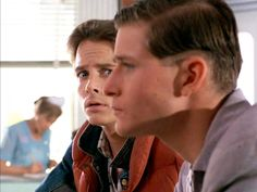 George and Marty McFly