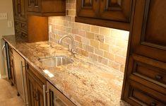 Typhoon Bordeaux, granite, countertops, kitchen, subway, California gold, slate, tile, bar, sink, residential, interior