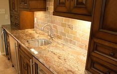 Typhoon Bordeaux, granite, countertops, kitchen, subway, California gold, slate, tile, bar, sink, residential, interior