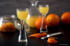 Przepis na domowy likier pomarańczowy
