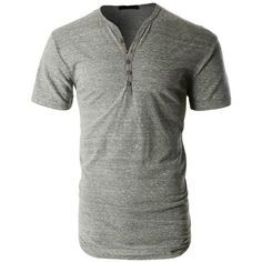 LE3NO PREMIUM Mens Lightweight Short Sleeve Crewneck Henley Shirt ❤ liked on Polyvore featuring men's fashion, men's clothing, men's shirts, men's casual shirts, male clothes, mens cotton shirts, mens casual long sleeve shirts, mens crew neck t shirts, mens short sleeve henley shirts and mens casual short-sleeve button-down shirts