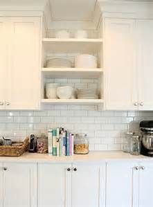 shelving between kitchen cabinets - Bing images