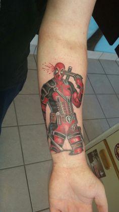 Deadpool tattoo marvel tattoo