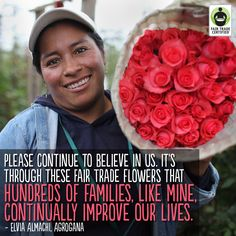 Happy #ValentinesDay! Thank you for sharing the love with farmers & workers around the world by choosing #FairTrade!