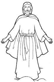 Jesus Clipart Black And White Google Search Jesus Coloring Pages