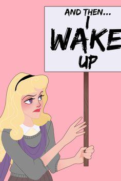 Illustrator Amanda Allen Niday Re-Imagines Disney Princesses as Women's Marchers | Teen Vogue