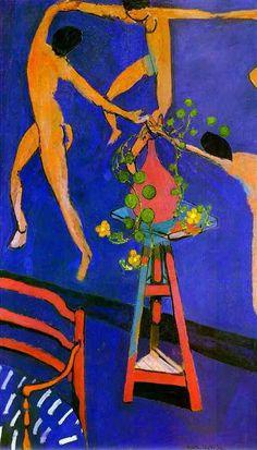La Danse con Capuchinas, óleo de Henri Matisse (1869-1954, France)