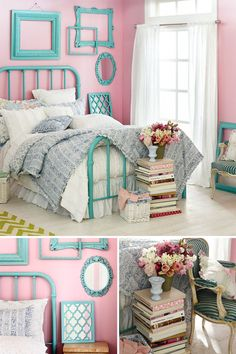 A little modern. A little chic. A lot of love for the Shabby Chic Collection for your bedroom.