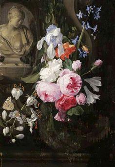 Jan Philip van Thielen Vase of Flowers 17th century
