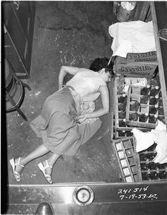 James Ellroy finds real crime-scene photographs from LAPD in 1953   British Journal of Photography
