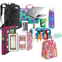 Backpack essentials, school i school, school bags, school stuff, back School Bag Essentials, Backpack Essentials, Middle School Supplies, School Supplies Organization, Backpack Organization, What's In My Backpack, School Survival Kits, School Suplies, School Lockers