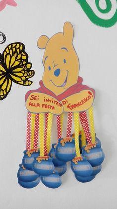 Inviti festa winnie the pooh