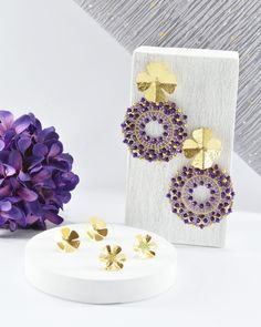 Jewellery Diy, Avocado Recipes, Ropes, Beading Patterns, Beaded Earrings, Embroidery Stitches, Bracelet Watch, Place Card Holders, Jewels