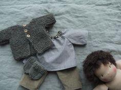 Doll clothes made by Une Poule à Petits Pas