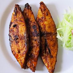 Meen Varuthathu (fried fish) with a crispy outside and juicy inside will definitely leave you wanting more! Goan Recipes, Fried Fish Recipes, Veg Recipes, Curry Recipes, Seafood Recipes, Indian Food Recipes, Vegetarian Recipes, Chicken Recipes, Cooking Recipes