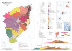 "feltron: "" Japanese Volcano Maps """